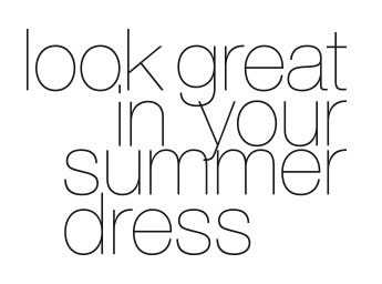 Prtty Peaushun - look great in your summer dress!